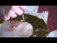 5 шаг Дополнительное нанесение второго слоя золота и полировка - YouTube