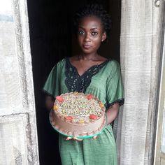 We are glad @i_am_abeke loved her redvelvet fiesta from yesterday ! #redvelvet #lagoscakes #lagos #waracake