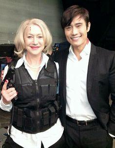 Red 2: Helen Mirren and Byung Hun Lee