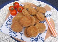Veloce e inusuale antipasto a base di legumi e farina integrale di segale. Polpettine croccanti, originali e molto gustose, adatte anche ai più piccoli.