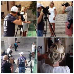 Fotooptagelse på Malta til TV2's julereklame for Christina Jewelry & Watches