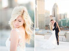 Downtown Detroit Wedding Detroit Wedding Photographer Michigan Wedding Photographer Niki Marie Photography