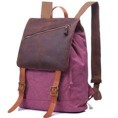 Canvas Cool Backpack Travel Backpack School Backpack