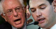 Bernie Sanders Slams Tea Party Idiot Marco Rubio for Voting Against Veterans' Benefits (Video)
