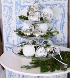 holiday decorations, alternatives to christmas trees   10 Christmas tree alternatives and other small-space decorating ideas