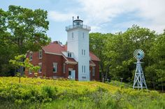 Visit the 40 Mile Point Lighthouse in Rogers City, Michigan, for beautiful views of Lake Huron. And ... - Provided by Reader's Digest (Association) Canada ULC