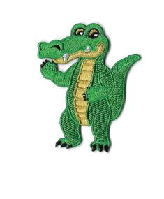 Alligator - Gator - Reptile - Logo - Embroidered Iron On Applique Patch #Unbranded