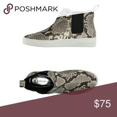 !!OFFERS!! New Michael Kors Snakeskin Sneakers *New - only tried on. *Snake-Skin High Top Sneakers *Open to all reasonable offers! Michael Kors Shoes Sneakers