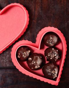 Happy Valentine's Day - Smokey Whiskey Truffles