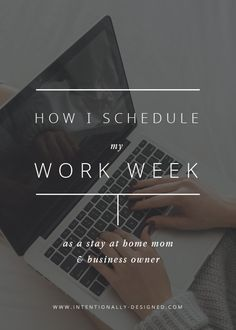 Working at home with a toddler running around can be quite the challenge,  and I am adapting more every day. As a small business owner, I wear many  hats and there is always a long list of things to do. I have recently made  some changes to how I schedule my work week so that I can get the most out  of my time and be sure to check all of those important boxes each week.  There are always some things on the list that can wait until later, but  there are a few areas of my business that need…