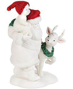 Department 56 Snowbabies Playdate with Santa Collectible Figurine