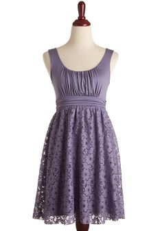 It's Swell Dress - Comes in Lilac, Stone, and Teal. Can't decide with colour I like the best.