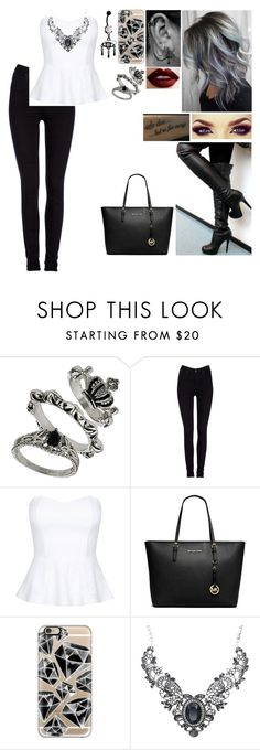 """""""Working Woman"""" by a7x-goddess ❤ liked on Polyvore featuring Lee, Michael Kors and Casetify"""