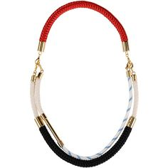 Marni Necklace (€175) ❤ liked on Polyvore featuring jewelry, necklaces, black, marni jewelry, marni necklace and marni