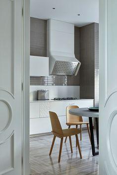 Легкий игривый дизайн дома в Подмосковье | Пуфик - блог о дизайне интерьера