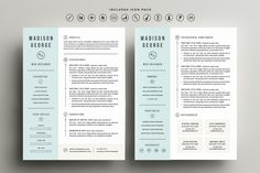 Resume & Cover Letter Template - Resumes - 4