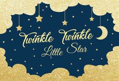 Twinkle Twinkle Little Star Photography Backdrop; Twinkle Twinkle Little Star Baby shower Scene Setter; Fun to be One decor - Twinkle Twinkle Little Star Photography Backdrop; Twinkle Twinkle Little Star Baby shower Scene Set - Twinkle Twinkle Little Star Decorations, Twinkle Star Party, Mermaid Balloons, Unisex Baby Shower, Mermaid Theme Birthday, Virtual Baby Shower, Star Photography, Fun Baby Shower Games, Party Scene