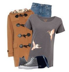 """Untitled #481"" by leehyena on Polyvore featuring Calvin Klein Jeans, Burberry, N°21 and Converse"