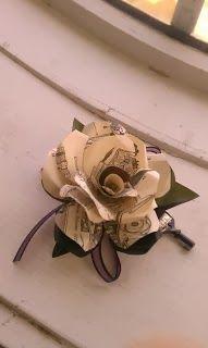 Mindennapi inspiráció: Papír rózsa 2.
