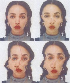 FKA Twigs // so much perfect Nam June Paik, Arte Indie, Grafik Design, Looks Cool, Pretty People, Art Inspo, Beauty Photography, Cool Photos, At Least