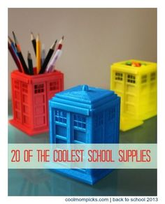 20 of the very coolest school supplies, designed to make that transition to fall a little easier. Some of these are amazing! Back to School tips