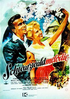 Poster zum Film: Schwarzwaldmelodie. 1956
