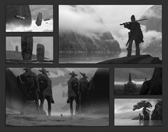 Composition Sketches , Eytan Zana on ArtStation at https://www.artstation.com/artwork/composition-sketches-2f811058-a8ed-4591-8088-897a2d4bb94b