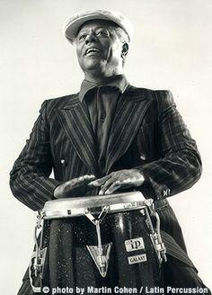 Armando Peraza (May 30, 1924 - April 14, 2014) American percussionist (known from Santana).