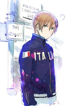 Romano! Hetalia~ he looks so good....
