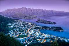 The Queenstown Lookout. Otago, New Zealand.