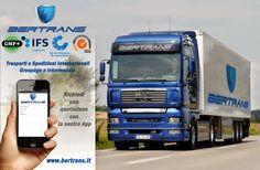 Bertrans Srl trasporti e logistica: TRASPORTI GROUPAGE Bertrans SRL autotrasporti e lo...