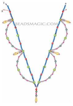 """Elegant Necklace """"Tori"""" - 2"""