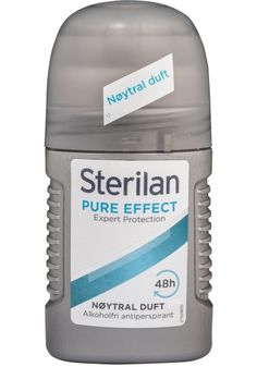 Sterilan Pure Effect Roll On 50 ml - Spar Kjøp Deodorant, 50th, Rolls, Personal Care, Pure Products, Beauty, Beleza, Bread Rolls, Dinner Rolls