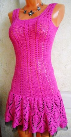dress Handarbeiten ☼ Crafts ☼ Labores  ✿❀.•°LaVidaColorá°•.❀✿  http://la-vida-colora.joomla.com