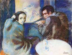 Pablo Picasso : the blue period