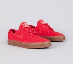 Nike SB Stefan Janoski Low-Hyper Red #sneakers #kicks