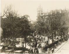 Pza.se Santa Ana. 1920.