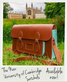 The University of Cambridge Satchel is available now!