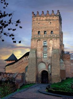 I never got to see this castle, but it was in another city I served in.  Lyubart Castle, Luts'k, Ukraine, from Iryna with love
