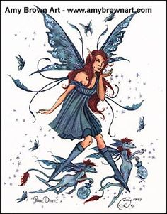Amy Brown Fairy Art Gallery