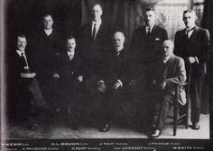 Board of Management for the Toowoomba Permanent Building Society in 1925.