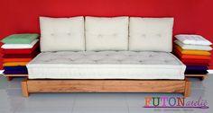 Sofá cama modelo turco solteiro.  0,80m 1,90m Confortável, lindo e hiper decorativo!