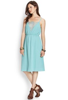 Strappy Cami Midi Dress | FOREVER21