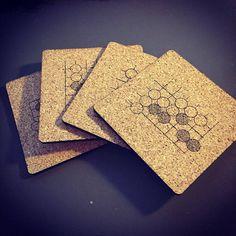 @justecorruptio made awesome tsumego coasters! #바둑 #围棋 #gogame #baduk #weiqi…