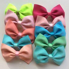 10pc mini fabric ribbon  clips 10pc mini fabric ribbon  clips Accessories Hair Accessories