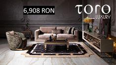 Livingul Ceres combina culorile pământului intr-un decor relaxant și poate fi comandat din Showroom-ul #TORO Luxury, Bd. Pipera 200A.  Rezervari si comenzi: 0746 661 384   Preț 1 canapea Ceres: 6.908 RON (tva inclus) Showroom, Couch, Luxury, Furniture, Home Decor, Homemade Home Decor, Sofa, Sofas, Home Furnishings