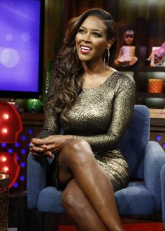 """Real Housewives of Atlanta"" Kenya Moore Calls Landlord A Liar, Says ""I PAID MY RENT!"" ~ @Gossip We Love"