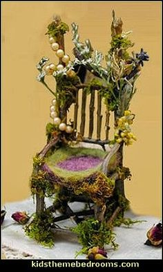 images of fairy house rooms | Fairy Furniture you can make-fairy garden furniture