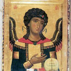 Saint Michael · The Sinai Icon Collection Byzantine Icons, Byzantine Art, Russian Icons, Icon Collection, Orthodox Icons, Angel Art, St Michael, Sacred Art, Illuminated Manuscript