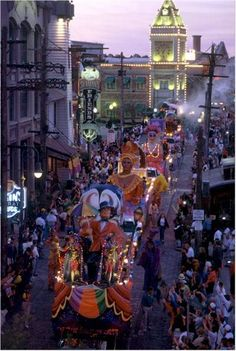Celebrating Mardi Gras in New Orleans is definitely on my bucket list